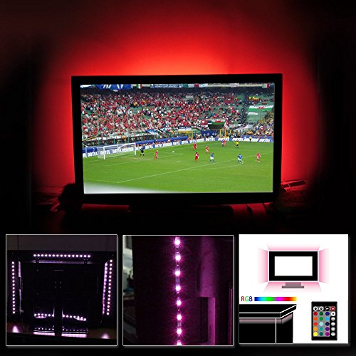 Rgb Led Home Theater Accent Lighting Kit: TORCHSTAR RGB Home LED Accent Lighting Kit