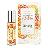 TerraNova Shea Blossom Perfume - .3 oz. Rollerball Bottle