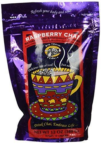 Big Train Chai - Raspberry Chai- 12 oz Resealable bag by Big Train (Big Train Raspberry Chai compare prices)