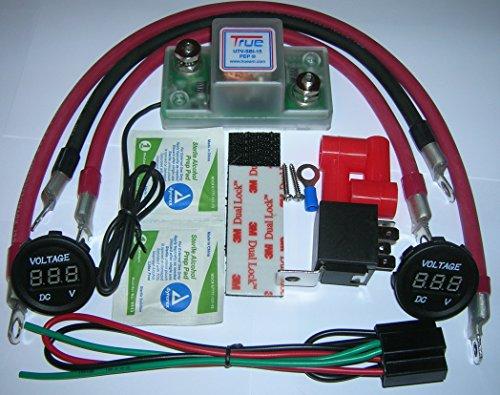 True-UTV-SBI-15CM-UTV-Dual-Battery-Connect-Monitor-Kit