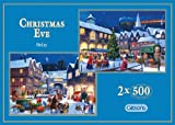 Gibsons Christmas Eve Jigsaw Puzzles (2x500 Pieces)