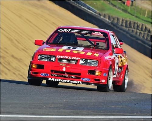 Photographic Print of CM11 5681 Brian Lilley, Aaron Tucker, Ford Sierra Cosworth