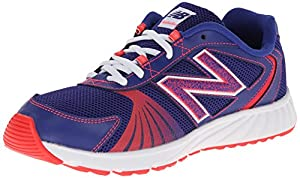 New Balance KJ555 Youth Lace Up Running Shoe (Little Kid),Purple/Pink,1.5 M US Little Kid