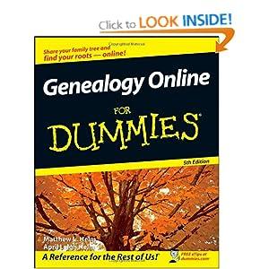 Genealogy Online For Dummies April Leigh Helm, Matthew L. Helm