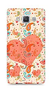 Amez designer printed 3d premium high quality back case cover for Samsung Galaxy A5 (Pretty paisley pattern)