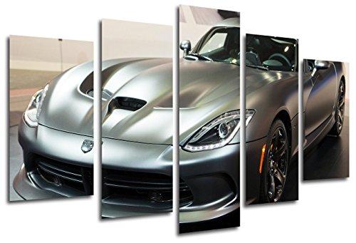 cuadro-moderno-fotografico-coche-dodge-viper-165-x-62-cm-ref-26328