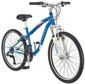 a7c03ec94ce Schwinn Girl's High Timber Mountain Bike (24-Inch, Blue) review ...
