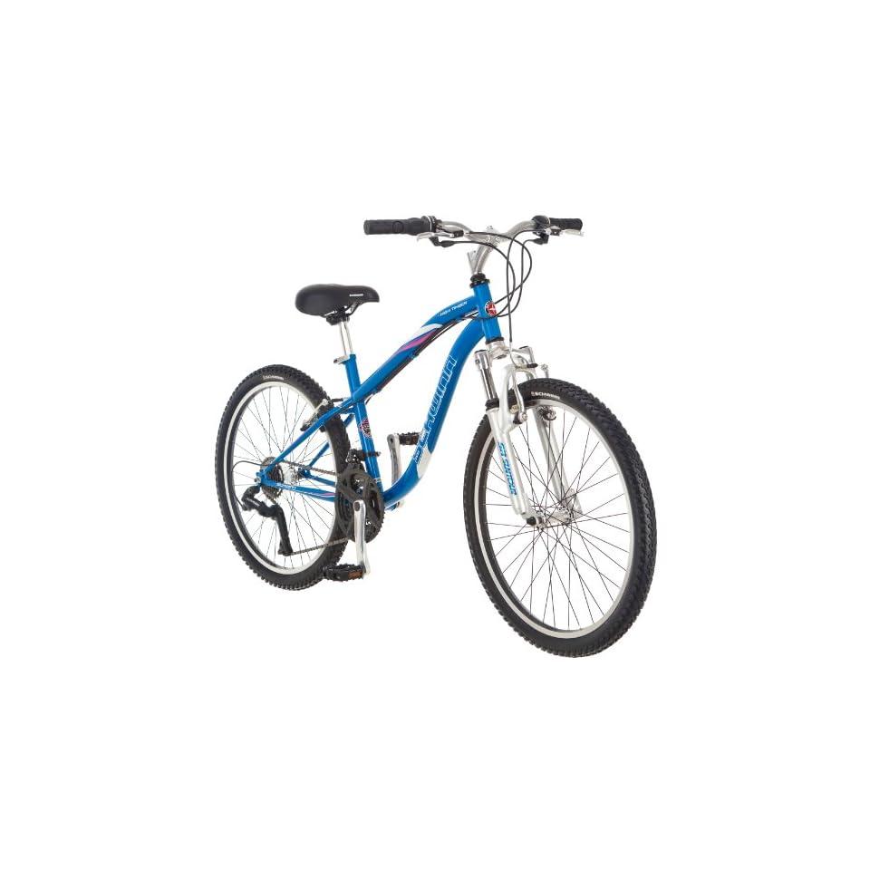 Schwinn Girls High Timber Mountain Bike (24 Inch, Blue) on