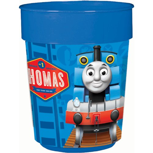 American Greetings Thomas and Friends Plastic Cup Party Supplies, 16 oz. - 1