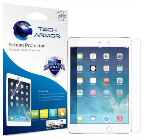 Tech Armor Apple iPad 5 Tablet プレミアム 高品質 (HD) 映り込み防止 スクリーンプロテクター無期限交換保証 [2枚入り]