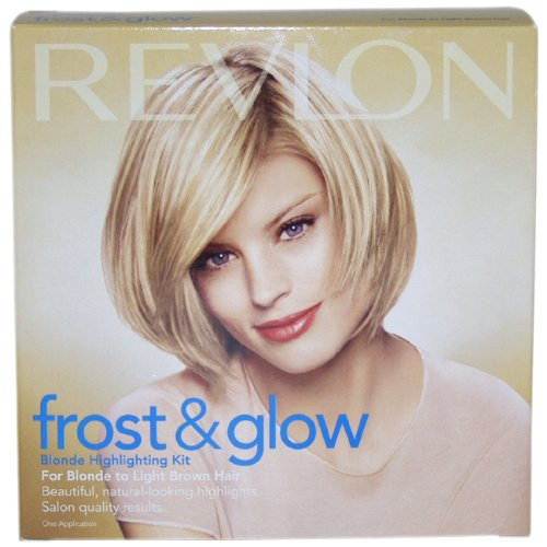 Revlon Frost and Glow Highlights, Blonde/Light Brown, 16 Ounces (Pack of 3)