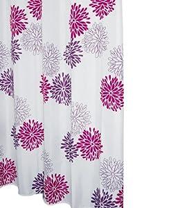 Ridder 403060 Duschvorhang Textil 180 x 200 cm Sandra