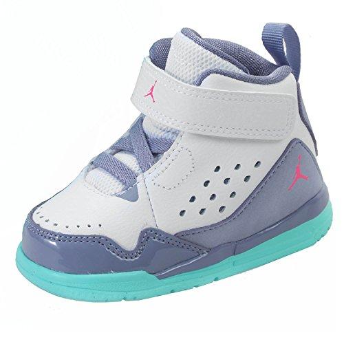 Nike Toddler Jordan Sc 3 Gt Girls Basketball-Shoes, White, 9 M Us