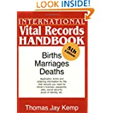 International Vital Records Handbook. 5th Edition