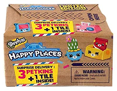 Happy Places 56193 Shopkins 3 Pack CDU Toy from Moose Toys