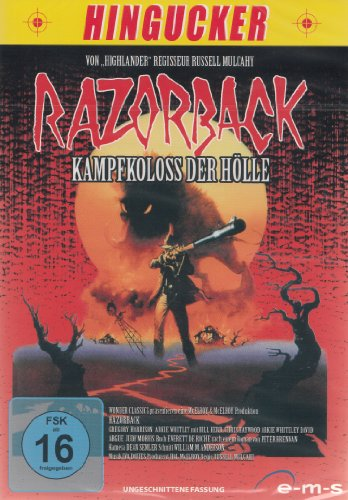 Razorback - Kampfkoloss der Hölle - ungeschnitten