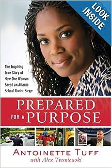 Antoinette Tuff writes book- prepared for purpose