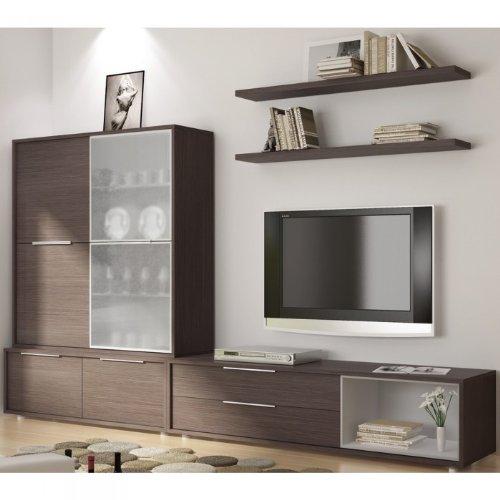 Meuble TV Design: #3 Meuble mural TV Thas UNE EXCLU ATYLIA Couleur ...