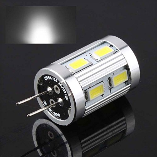Fashion Partical G4 12 Smd 5730 4W Led Car Cabinet Light Bulb Warm Pure White Ac/Dc8V-16V