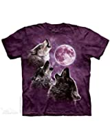 The Mountain Unisex-Adult Three Wolf Moon Short Sleeve T-Shirt