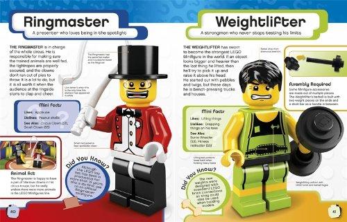 LEGO minifig character encyclopedia