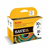 Kodak Genuine 30B/ 30CL Ink Cartridge Combo Pack - Black & Colour (335/ 390 Pages)