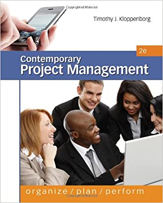Contemporary Project Management, 2nd Edition
