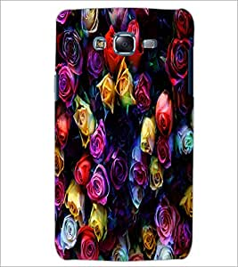PrintDhaba Roses D-4377 Back Case Cover for SAMSUNG GALAXY J7 (Multi-Coloured)