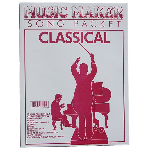 European Expressions Intl Classical Music Maker Song Sheet