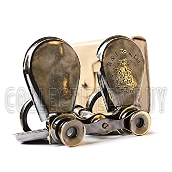Classic Marine Spy Glass Antique London 1857 R & J Beck Brass Binocular Collectibles Gift