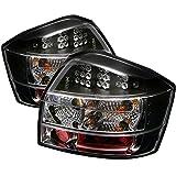 Spyder Audi A4 02-05 LED Tail Lights - Black