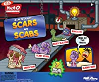 POOF-Slinky - Ideal Yuck-O Scars and Scabs, 30013 from Ideal