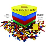 BOX4BLOX - Award Winning Toy Storage and Sorter Box for Organizing Small Plastic Interlocking Building Bricks | Great Kids Gift Idea | Made in USA