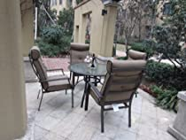 Hot Sale 5pc Outdoor Patio Dining Set with Cushions
