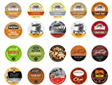 Crazy Cups Keurig K-Cups Gift Box Fall Seasonal 20 Count, Sampler Pack