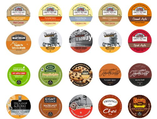 Crazy Cups Keurig K-Cups Gift Box Fall Seasonal