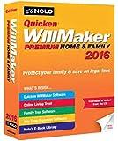 Quicken WillMaker Premium Home & Family 2016