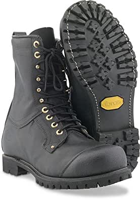 SwedeProTM Leather Chain Saw Boots (7.5)
