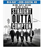 Straight Outta Compton (Blu-ray + DVD + Digital HD with Ultraviolet) (Bilingual)