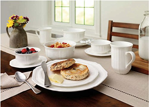 Mikasa Antique White 36-piece Dinnerware Set 0