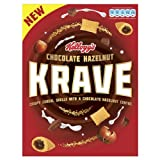 Kellogg's Chocolate Hazelnut Krave 375g (Pack of 6)