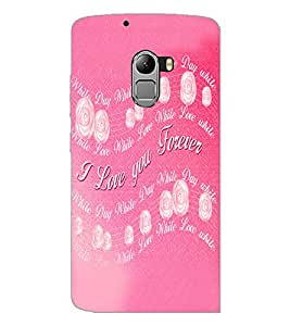 PrintDhaba Quote D-5524 Back Case Cover for LENOVO VIBE K4 NOTE (Multi-Coloured)