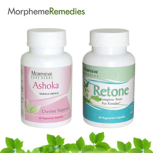 Morpheme Combo Supplements For Regular Menstrual Cycle, Yellow Discharge