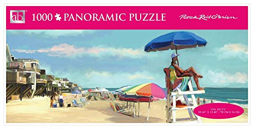 Andrews + Blaine On Duty Panoramic Puzzle, 1000-Piece