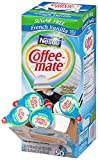 Coffee-mate Coffee Creamer, Sugar Free French Vanilla Liquid Singles, 0.375-Ounce Creamers, 50-Count