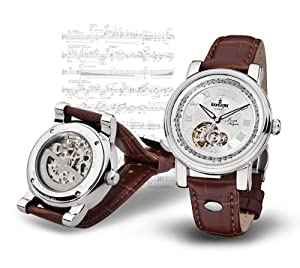 "Kronsegler Limit. Edition ""Joseph Haydn"" steel-silver"