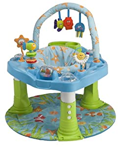 Evenflo Double Fun Developmental Activity Center, Ocean (Discontinued by Manufacturer)