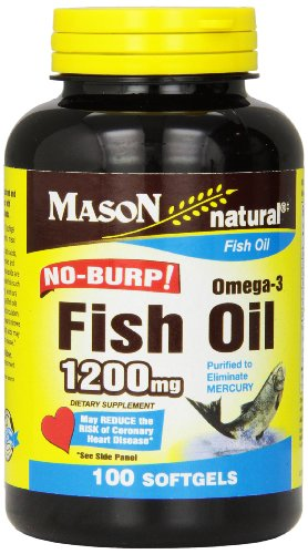 Top best 5 fish oil no burp for sale 2016 product for Fish oil for sale
