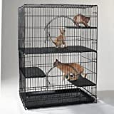 ProSelect Plastic Cat Cage Deluxe Platforms, Set of 3