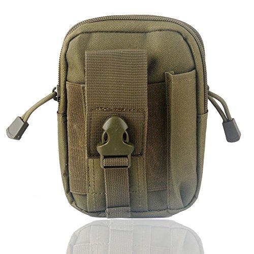 Wasserdichte 1000D Nylon Camouflage Tactical MOLLE Universal-Multifunktions -große Kapazitäts-Outdoor-Camping-Wandern praktische Gerät Beutel (Farbe 5)
